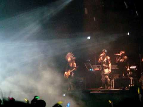 阿密特(张惠妹):分生    阿密特首次世界巡回演唱会 @ 新加坡 30JAN2010