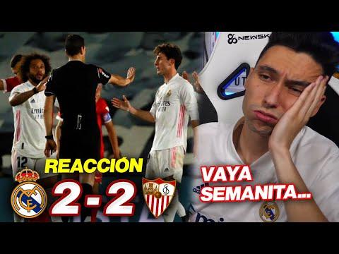 REACCIONES DE UN HINCHA Real Madrid vs Sevilla 2-2 ¿ESO ES PENALTI?