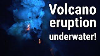 WHOI: Erupting Underwater Volcano