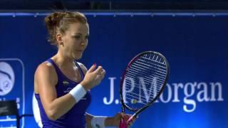Highlights: WTA R3 - Bellis d. Radwanska