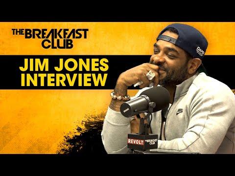 Jim Jones Stays Hush On 6ix9ine Case, Talks Music, 'Saucey' Business With Alex Todd + More