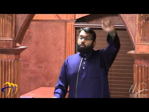 Tafsir Surat al-Fatihah 14: The Eloquence of the Qur'an ~ Dr. Yasir Qadhi | 20th July 2014 - YasirQadhi  - V3H3je-Ezik -