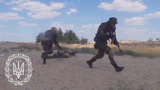 Учбові стрільби штурмової групи загону територіальної оборони Херсонщини