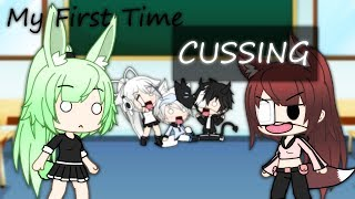 ||Gachaverse|| My First Time Cussing || Skit || Contains Bad Words/Swearing ||