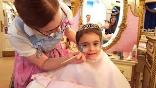 Emily Transform into Royal  Real Princess