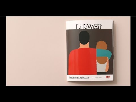 Uniqlo S Debut Lifewear Magazine Celebrates Timeless