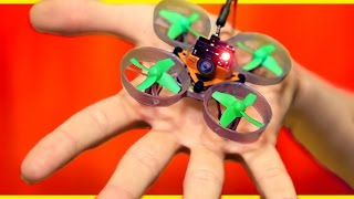 World's Smallest DIY Spy Drone!