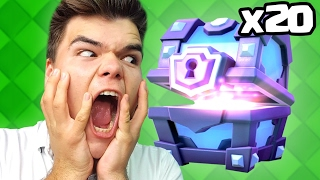 $1000 LEGENDARY CHEST OPENINGS! (Clash Royale)