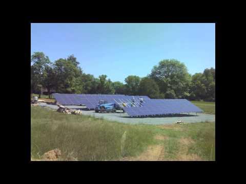 Aurora Energy Solar Panel Install Bellair Farm