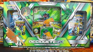 Pokemon Cards - Opening a Decidueye GX Premium Collection Box