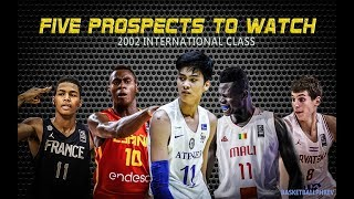 Kai Sotto sa Five Prospects to Watch | International Class | NBA Draft Eligible 2021
