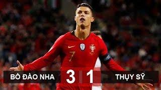 Ronaldo lập hattrick, Bồ Đào Nha vào chung kết Nations League