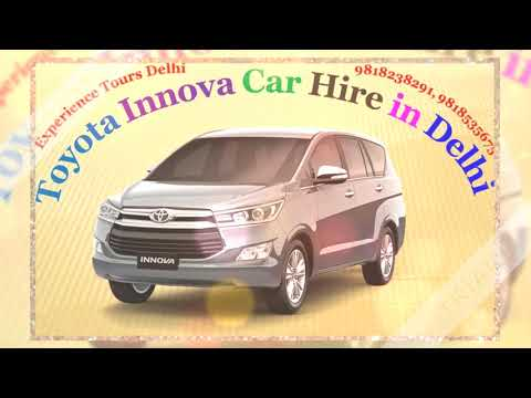 Rent Innova Car Hire | Toyota Crysta 7 seater cab hire in Delhi NCR