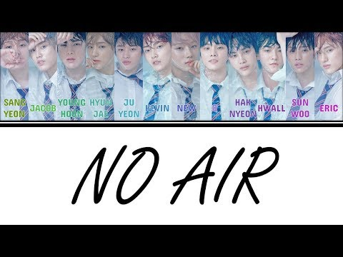 [Color Coded Lyrics] THE BOYZ (더보이즈) - No Air [Han/Rom/Eng]