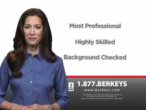 Berkeys Plumbers Most Professional in DFW Metroplex