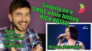 Vocal Coach YAZIK reacts to Regine Velasquez - I don't wanna miss a thing LIVE