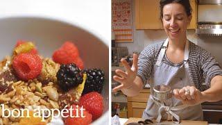 Carla Makes Nut-Free Granola | Bin It to Win It | Bon Appetit