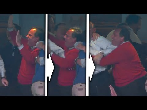 Chris Christie - Sucks Up To Cowboys Owner - NJ Gov. Celebrates Giants Arch Rival