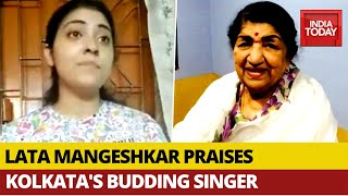 Kolkata budding girl singer went viral after Lata Mangeshk..