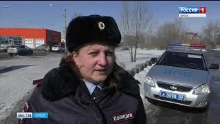 В Омске сегодня утром столкнулись два пассажирских автобуса