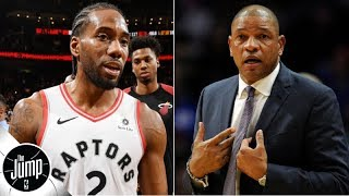 Doc Rivers' Kawhi Leonard comments get Clippers a $50,000 tampering fine | The Jump
