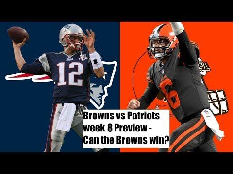 Browns vs Patriots week 8 Preview