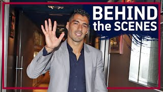 EXCLUSIVE: Inside view of LUIS SUÁREZ's emotional farewell