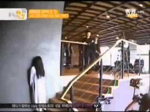 [SUBBED] 110801 TEEN TOP Hidden Camera - When They See A Ghost