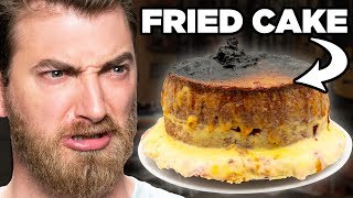 Putting A Whole Cake In An Air Fryer (TEST)