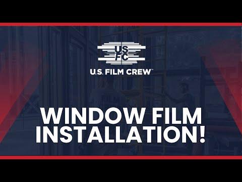 U.S. Film Crew: Security Film Installation | Window Tinting in Pittsburgh