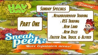 Hay Day Update - New Land, New Deco, Faster Tom, Plus More