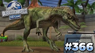 THE NEW CONCAVENATOR!!! | Jurassic World - The Game - Ep366 HD