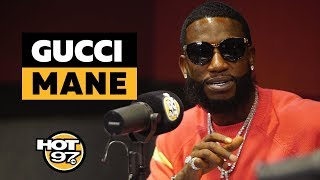 Gucci Mane On Working w/ Gucci After Controversy, Snitching, How His Wife Saved Him + His Influence