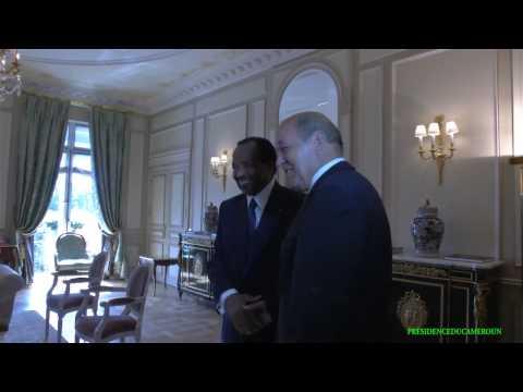 Le Chef de l'Etat a reçu en audience le Ministre français de la Défense