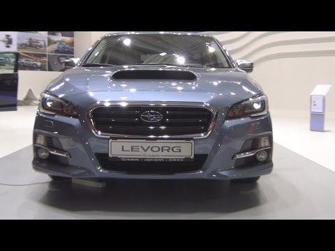 Subaru Levorg 1.6GT-S Sport Style CVT Lineatronic (2016) Exterior and Interior in 3D