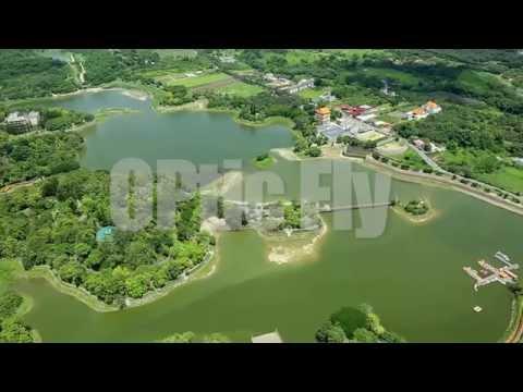 20140608台南空拍素材15 新化區虎頭埤風景區