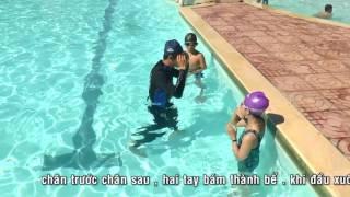 Dạy bơi buôn ma thuôt -  Bơi ếch cơ bản - T Hiệu 0946 329 428 hoặc 01666124846