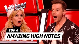 OUTSTANDING HIGH NOTES in The Voice Kids
