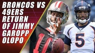 49ers vs Broncos Preseason: What to Watch