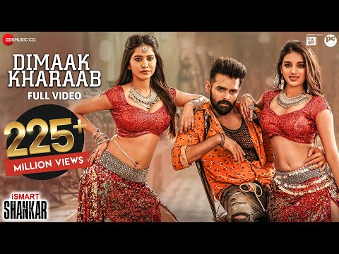 Dimaak Kharaab - Full Video Song | iSmart Shankar
