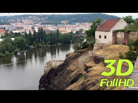 [3D] Vysehrad, Prague, Czech Republic / Vyšehrad, Praha, Česko
