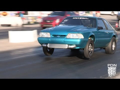 True Street winner - LS powered Mustang - Holley LS Fest