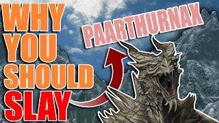 Why You Should Slay Paarthurnax | Hardest Decisions in Skyrim | Elder Scrolls Lore