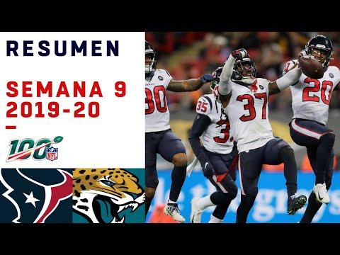 Los Texans conquistaron Wembley y frenaron la Minshewmanía | Highlights Texans vs Jaguars