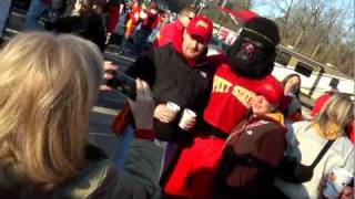 'See what special guest helped cheer on the Gorillas in Alabama!