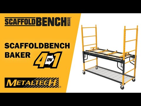 Metaltech ScaffoldBench 4 in 1