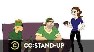Comedy Central Re-Animated - Whitney Cummings - Guys Are Never Called Crazy - Uncensored