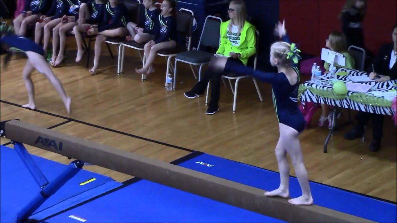 level 7 ohio state gymnastics meet 2014