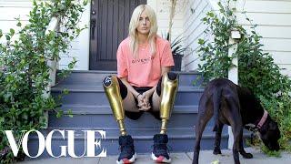 How Lauren Wasser, the Model With Golden Legs, Made a Triumphant Return | Vogue