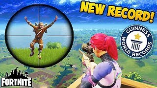 *NEW* WORLD RECORD SNIPE! - Fortnite Funny Fails and WTF Moments! #146 (Daily Moments)